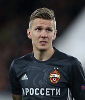 CSKA Moscow's Pontus Wernbloom<br /> <br /> Photographer Rob Newell/CameraSport<br /> <br /> UEFA Europa League Quarter-Final First Leg - Arsenal v CSKA Moscow - Thursday 5th April 2018 - The Emirates - London<br />  <br /> World Copyright &copy; 2018 CameraSport. All rights reserved. 43 Linden Ave. Countesthorpe. Leicester. England. LE8 5PG - Tel: +44 (0) 116 277 4147 - admin@camerasport.com - www.camerasport.com