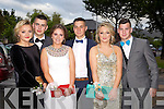 Having a wonderful time at the Causeway Comprehensive School Debs at the Brandon Hotel on Thursday were l-r Leanne Mulvihill, Cian Donovan, Orla O'Shea, David Sells, Mariann Nolan, Robert O'Connor.