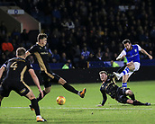 31st October 2017, Hillsborough, Sheffield, England; EFL Championship football, Sheffield Wednesday versus Millwall; Jacob Butterfield of Sheffield Wednesday has a shot