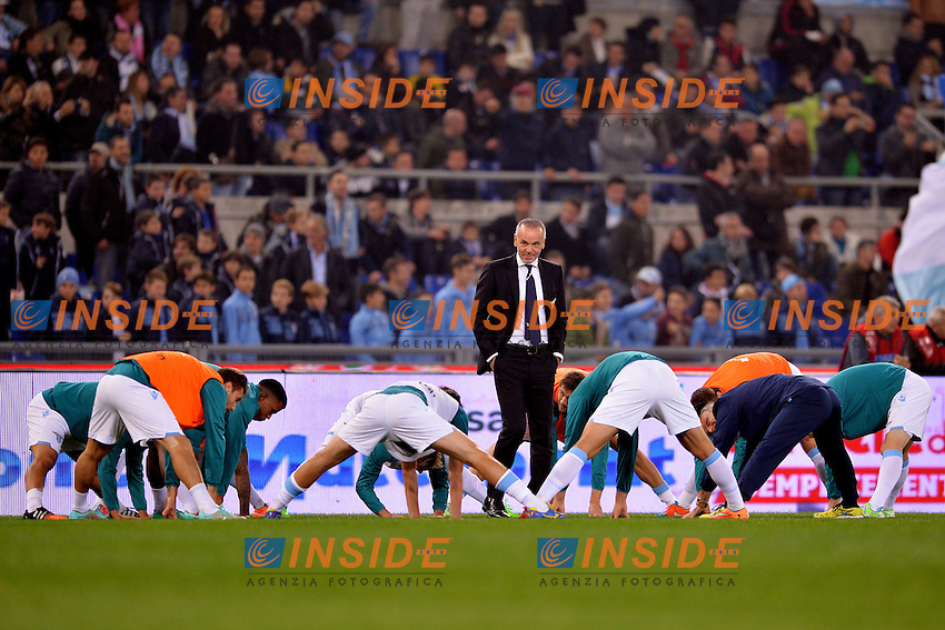 Stefano Pioli, allenatore della Lazio.<br /> Roma 22-11-2014 Stadio Olimpico. Football Calcio 2014/2015 Serie A. Lazio - Juventus. Foto Antonietta Baldassarre / Insidefoto