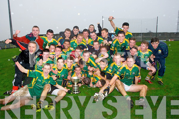 Champions were St Brendan College Killarney as they defeated PS Chorcha Dhuibhne Dingle 2-8 to 1-9 in the Coiste Iarbhunscoileanna Chiarrai CLG 2013/14 O'Sullivan Cup School; Final at Austin Stack Park, Tralee on Wednesday.