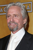 LOS ANGELES, CA - JANUARY 18: Michael Douglas in the press room at the 20th Annual Screen Actors Guild Awards held at The Shrine Auditorium on January 18, 2014 in Los Angeles, California. (Photo by Xavier Collin/Celebrity Monitor)