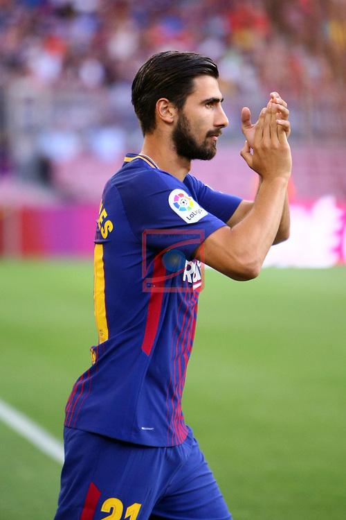 52e Trofeu Joan Gamper.<br /> FC Barcelona vs Chapecoense: 5-0.<br /> Andre Gomes.