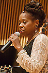 Newark's FIrst Lady of Jazz, Dorthaan Kirk, was honored at the Jazz Drama Program's Annual Benefit Concert. Hosted by Rondi Charleston, the concert took in the DiMenna Center in Manhattan and featured performances by Eli Yamin, Catherine Russell, Evan Christopher and Jazz Drama Program students.