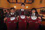 Kings College 1st XV Jersey Presentation. Kings College, Auckland, 27 June 2020. Photo: Simon Watts/www.bwmedia.co.nz