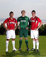 2009 06 23 Swansea City Football Club new kit, Machybys Golf Club, Llanelli, UK.