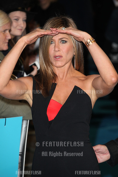 Jennifer Aniston arriving for the Horrible Bosses 2 Premiere, Odeon West End, London. 12/11/2014 Picture by: Alexandra Glen / Featureflash