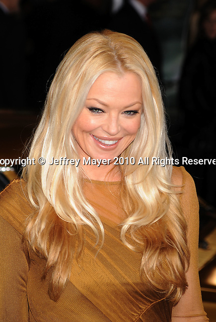 """HOLLYWOOD, CA. - November 22: Charlotte Ross arrives at the """"Faster"""" Los Angeles Premiere at Grauman's Chinese Theatre on November 22, 2010 in Hollywood, California."""