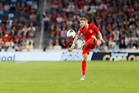St. Paul, MN - Tuesday June 18, 2019: Paul Arriola of the United States during a 2019 CONCACAF Gold Cup group D match between the United States and Guyana on June 18, 2019 at Allianz Field in Saint Paul, Minnesota.