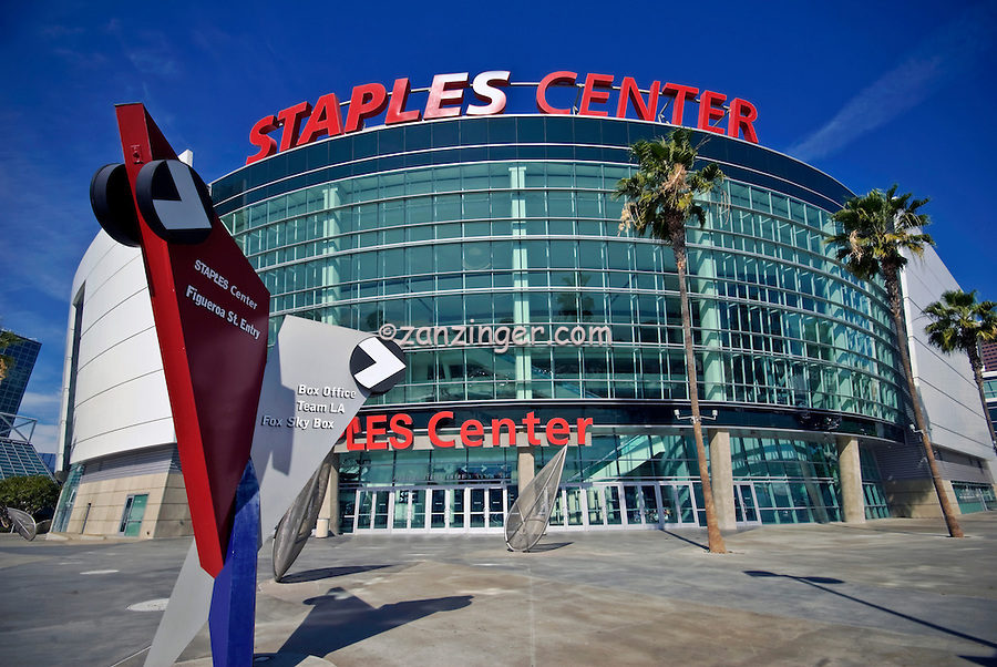 Staples Center Sports Arena