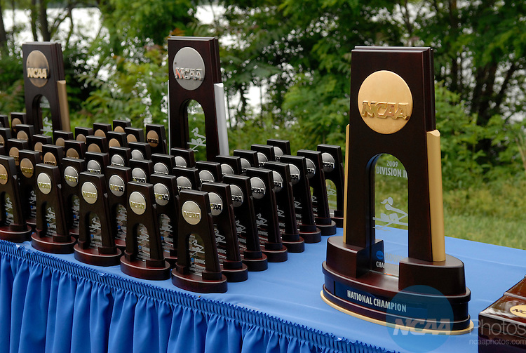 30 MAY 2009:  The NCAA Division III Women's Rowing Championship was held at the Cooper River in Camden, NJ.  Eric Hartline/NCAA Photos