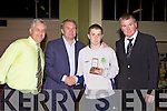 Awards night for Listowel Celtic Soccer Schoolboys/girls were held in St. Michaels College Listowel on Thursday night..Darren Barden, Ray Houghton, Luke O'Donnell, Aidain O'Connor