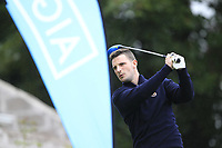Andrew King (Cairndhu) during the final of the AIG Jimmy Bruen Ulster Final at Dungannon Golf Club, Dungannon, Tyrone, Ireland. 11/08/2017<br /> Picture: Fran Caffrey / Golffile