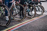 startline<br /> <br /> Women U23 Race<br /> UCI CX Worlds 2018<br /> Valkenburg - The Netherlands