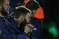 Replacements bench during the Greene King IPA Championship match between London Scottish Football Club and Jersey Reds at Richmond Athletic Ground, Richmond, United Kingdom on 16 March 2018. Photo by David Horn.