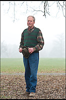 BNPS.co.uk (01202 558833)<br /> Pic: RachelAdams/BNPS<br /> <br /> ***Please use full byline***<br /> <br /> Dan Tanner, owner of the herd pictured at Burley Park in the New Forest. <br /> <br /> One of the biggest and best known stags in Britain has been shot dead by poachers desperate to get their hands on its prized antlers worth &pound;1,000.<br /> <br /> The huge 16-year-old red deer, known as The Monarch because of its regal stature, was gunned down on private land in the New Forest.<br /> <br /> It is believed the Monarch was shot by poachers wanting to chop off his head and impressive 16-point antlers and mount it as a trophy.<br /> <br /> The antlers alone are thought to be worth around &pound;1,000.<br /> <br /> Poachers fired at the enormous beast with a shotgun but the impact was not enough to kill it and it evaded its would-be captors.<br /> <br /> But, mortally wounded, its lifeless body was found later floating in a lake where it is thought to have drowned.<br /> <br /> The Monarch was so well known and revered in the New Forest that gift shops sell souvenirs  with pictures of him on it including mugs, clocks and jewellery.<br /> <br /> His death comes three years after another huge red stag dubbed the Exmoor Emperor was shot dead by a hunter.<br /> <br /> The Monarch was the biggest of a herd of 40 red deer owned by farmer Dan Tanner and kept at Burley Park near Ringwood, Hants.