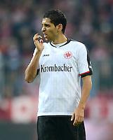 FUSSBALL   1. BUNDESLIGA  SAISON 2012/2013   11. Spieltag FC Bayern Muenchen - Eintracht Frankfurt    10.11.2012 Karim Matmour (Eintracht Frankfurt)