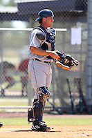 Detroit Tigers minor league player Jeff Kunkel #71 during a spring training game against the Washington Nationals at the Spacecoast Stadium Training Complex on March 27, 2011 in Melbourne, Florida.  Photo By Mike Janes/Four Seam Images