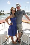 Ewa Da Cruz and Trent Dawson - ATWT - 11th Annual SoapFest - Cruisin' & Schmoozin' on the Marco Island Princess to raise dollars to benefit Marco Island YMCA, theatre program & Art League of Marco Island on May 2, 2009 on Marco Island, FLA. (Photo by Sue Coflin/Max Photos)
