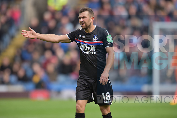 Crystal Palace's James McArthur during the premier league match at the Turf Moor Stadium, Burnley. Picture date 10th September 2017. Picture credit should read: Paul Burrows/Sportimage