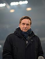 FUSSBALL   1. BUNDESLIGA   SAISON 2012/2013    23. SPIELTAG FC Schalke 04 - Fortuna Duesseldorf                        23.02.2013 Horst Heldt  (FC Schalke 04)