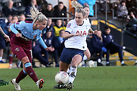Julia Simic of West Ham United women and Rianna Dean of Tottenham Hotspur women during Tottenham Hotspur Women vs West Ham United Women, Barclays FA Women's Super League Football at the Hive Stadium on 12th January 2020
