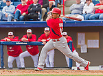7 March 2015: St. Louis Cardinals infielder Kolten Wong in Spring Training action against the Washington Nationals at Space Coast Stadium in Viera, Florida. The Cardinals fell to the Nationals 6-5 in Grapefruit League play. Mandatory Credit: Ed Wolfstein Photo *** RAW (NEF) Image File Available ***