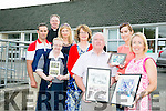 Flemby NS. Celebrating 50 years and 150  years of Ballymac Thomas local school. Committee Members Front l-r  Michael Marshall, Ciara Curtin and Fiona Cooke. Back l-r  Sr Bernadine, Berni Falvey, chairperson of the Board Of Management, Paul Roche, Principal, Juliette Marshall and Fr Pat Crean Lynch seeking old photographs/memorabilia for celebration later this year