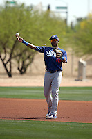 Erisbel Arruebarrena - Los Angeles Dodgers 2016 spring training (Bill Mitchell)