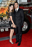 Kenneth Miller &amp; Guest at the premiere for &quot;Only The Brave&quot; at the Regency Village Theatre, Westwood. Los Angeles, USA 08 October  2017<br /> Picture: Paul Smith/Featureflash/SilverHub 0208 004 5359 sales@silverhubmedia.com