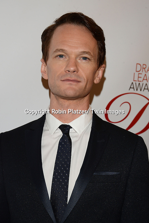 Neil Patrick Harris attends the 80th Annual Drama League Awards Ceremony and Luncheon on May 16, 2014 at the Marriot Marquis Hotel in New York City, New York, USA.