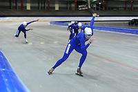 SCHAATSEN: HEERENVEEN: 19-06-2014, IJsstadion Thialf, Zomerijs training, Margot Boer, ©foto Martin de Jong