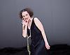 Tanztheater Wuppertal Pina Bausch <br /> &lsquo;Masurca Fogo&rsquo; <br /> at Sadler's Wells, London, Great Britain <br /> rehearsals<br /> 8th February 2017 <br /> <br /> Tanztheater Wuppertal Pina Bausch: Masurca Fogo<br /> Nazareth Panadero<br /> Masurca Fogo, created by the endlessly inventive Pina Bausch, returns to Sadler&rsquo;s Wells from 9 - 12 February 2017. The piece is performed by the legendary Tanztheater Wuppertal Pina Bausch, a Sadler&rsquo;s Wells International Associate Company.<br /> <br /> <br /> <br /> <br /> Performers:<br /> Regina Advento, Pablo Aran Gimeno, Emma Barrowman, Rainer Behr, Andrey Berezin, Michael Carter, &Ccedil;ağdaş Ermis, Silvia Farias Heredia, Jonathan Fredrickson, Ditta Miranda Jasjfi, Daphnis Kokkinos, Cristiana Morganti, Breanna O&rsquo;Mara, Nazareth Panadero, Julie Shanahan, Oleg Stepanov, Julian Stierle, Fernando Suels Mendoza, Aida Vainieri, Ophelia Young.<br /> <br /> Photograph by Elliott Franks <br /> Image licensed to Elliott Franks Photography Services