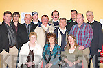 ATTENDING: Some the crowd who attended the Milltown welcoming evening in Milltown Community Centre last Friday night. Front row l-r: Bernie Byrne, Mary ONeill and Finola Geary. Back row l-r: Tim Wrenn, Maurice McSweeney, Ken ONeill, Tom Hannafin, Des ONeill, John Clifford, Pat OSullivan, Mike Cronin, Dan Cronin and Andrew Byrne..