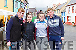Tomas Creedon, Mary Ellen McCarthy, Chloe Casey, and Darragh Creedon at the Kilgarvan vintage on Sunday