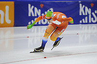 SCHAATSEN: HEERENVEEN: 25-10-2014, IJsstadion Thialf, Trainingswedstrijd schaatsen, Tom Kant, ©foto Martin de Jong