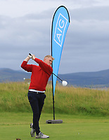Alan Butler (Ennis) on the 1st tee during the Munster Final of the AIG Junior Cup at Tralee Golf Club, Tralee, Co Kerry. 13/08/2017<br /> Picture: Golffile | Thos Caffrey<br /> <br /> <br /> All photo usage must carry mandatory copyright credit     (&copy; Golffile | Thos Caffrey)