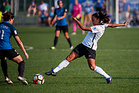 Kansas City, MO - Sunday September 3, 2017: Taylor Lytle during a regular season National Women's Soccer League (NWSL) match between FC Kansas City and Sky Blue FC at Children's Mercy Victory Field.
