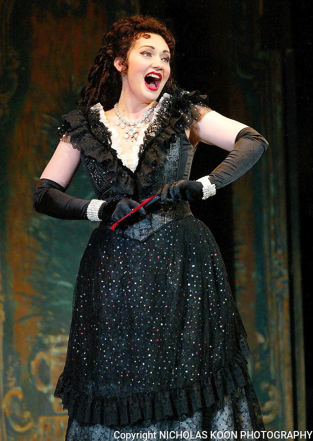 2005 - LA TRAVIATA - Dina Kuznetsova as Violetta Valery in act one of Opera Pacific's production of La Traviata.