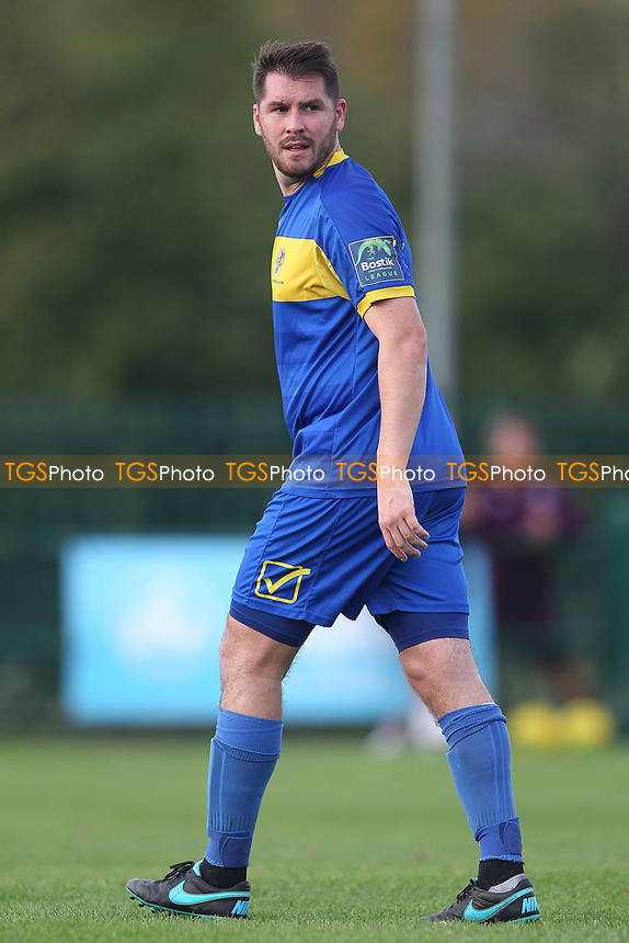 Chris Taylor of Romford during Romford vs Coggeshall Town, Bostik League Division 1 North Football at Rookery Hill on 13th October 2018