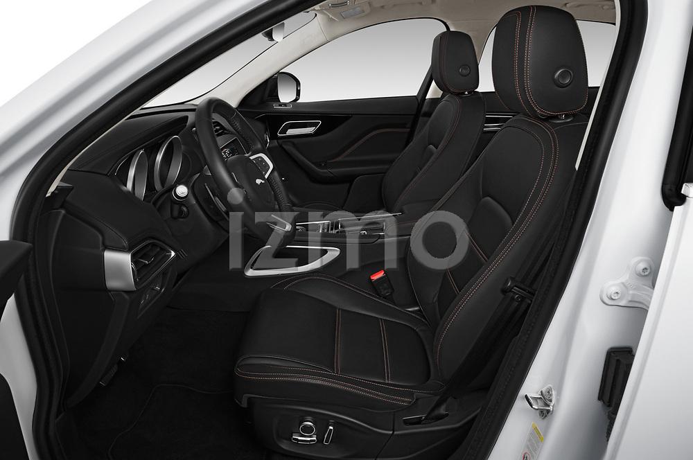 Front seat view of 2019 Jaguar F-Pace Prestige 5 Door SUV Front Seat  car photos