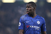 Kurt Zouma of Chelsea during Chelsea vs Aston Villa, Premier League Football at Stamford Bridge on 4th December 2019