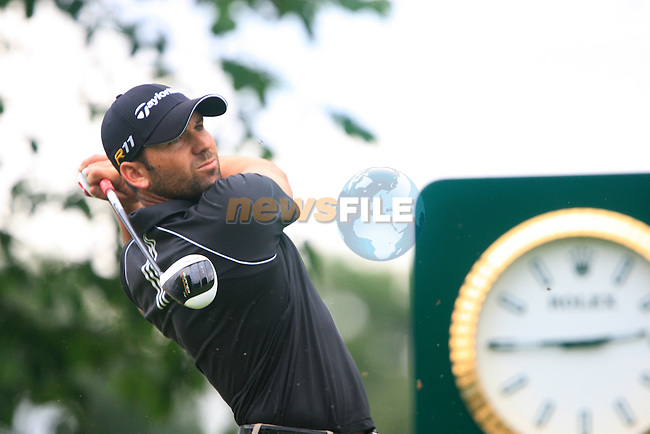 Sergio Garcia (ESP) tees off on the 16th tee during of Day 3 of the BMW International Open at Golf Club Munchen Eichenried, Germany, 25th June 2011 (Photo Eoin Clarke/www.golffile.ie)