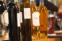 Bottles of various cuvees from the Chateau Belingard Chateau Belingard Bergerac Dordogne France
