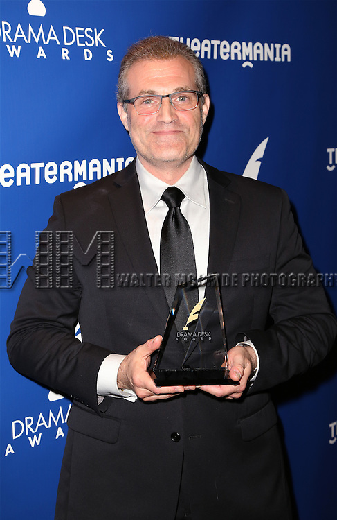 Marc Kudisch visits the 2015 Drama Desk Awards Media Room at Marriott Marquis Times Square on May 31, 2015 in New York City.