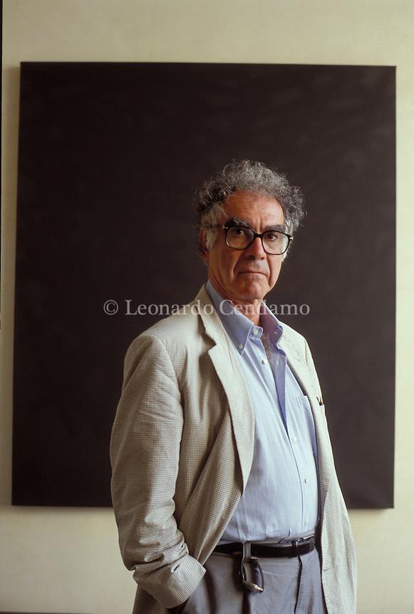 2003: Carlo Ginzburg ( writer )  © Leonardo Cendamo