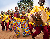 African Children's Choir Anniversary album project, Love is a Journey, Uganda, 2014