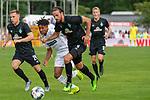 20.07.2019, Heinz Detmar Stadion, Lohne, Interwetten Cup VfL Osnabrück vs SV Werder Bremen<br /> <br /> im Bild / picture shows <br /> <br /> Martin Harnik (Werder Bremen #09)<br /> Johannes Eggestein (Werder Bremen #24)<br /> <br /> Foto © nordphoto / Kokenge
