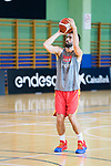 Javier Beiran during the training of Spanish National Team of Basketball. August 06, 2019. (ALTERPHOTOS/Francis González)