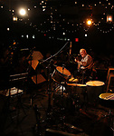 Eddy Davis performs at the New York Hot Jazz Festival own September 30, 2018 at The McKittrick Hotel in New York City.